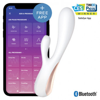 Вибратор кролик Satisfyer Mono Flex White