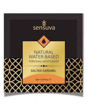 Пробник Sensuva - Natural Water-Based Salted Caramel (6 мл)